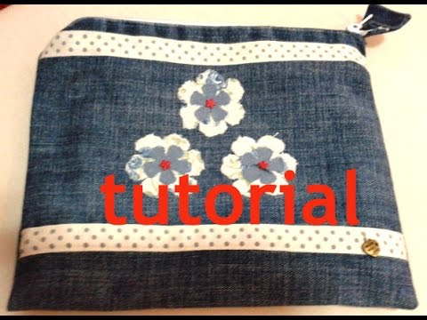 Pochette tutorial cucito creativo youtube for Cucito creativo youtube
