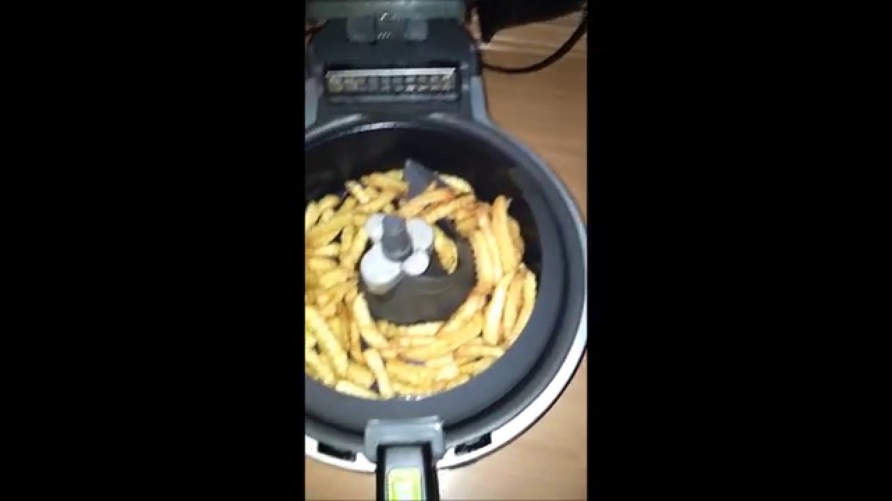 TEFAL ACTIFRY HEIssLUFT FRITTEUSE
