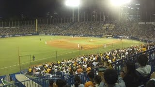 View from The Left Side Stand in Jingu Stadium on October, 2015 神...