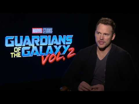 Chris Pratt Discusses Guardians of the Galaxy Vol 2. | IMDb EXCLUSIVE