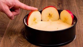 Pas beaucoup de temps? Voici un gâteau moelleux aux pommes à faire en 5 minutes.| Savoureux.tv
