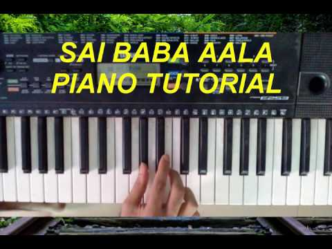 Piano Notes to play - Sai Baba Aala - Marathi Song