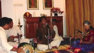 Naneke Badavanu, Ragam: Behaag, Thalam: Khandachapu
