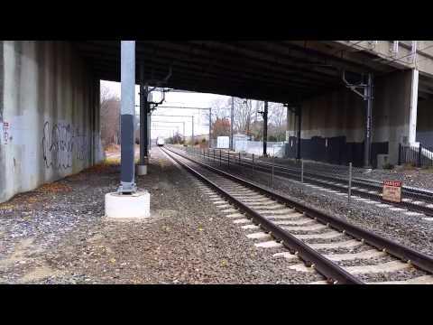 Acela Express @ 150MPH in Kingston, RI (60 fps)