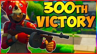 300th Victory Royale With The Drum Gun | Fortnite Battle Royale