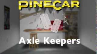 Keep Nail-type Axles Securely In Place - Pinewood Racing Car | Pinecar Derby