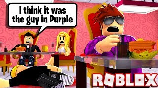 SOMEONE FRAMED ME FOR MURDER IN ROBLOX!