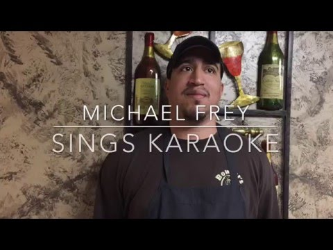 Mike's Karaoke Performance