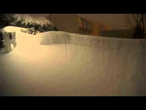 Heavy Snow Fall in Chicago Over 24hrs