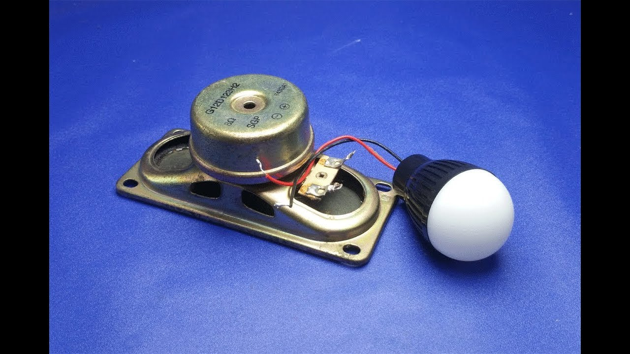 Free Energy Generating Device with Light Bulb using ...