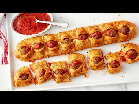 Pull apart pigs in a blanket video