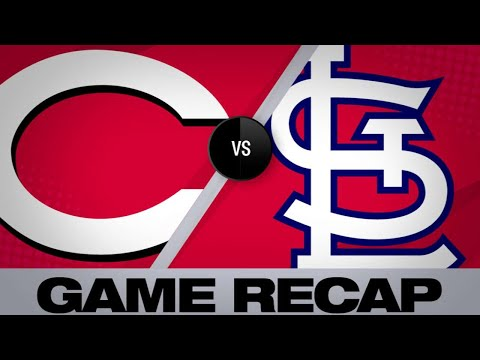 4/26/19: Reds belt 5 homers in win over Cards
