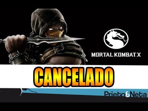 Oficial 100 Cancelan Mortal Kombat X Para Ps3 Y Xbox 360 Youtube