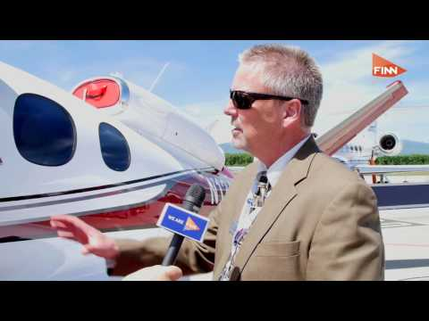 The vision for the Cirrus Vision Jet, the world's first single-engine personal jet