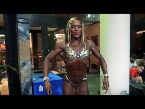 Martina Harris : NPC Nationals Overall Figure Winner