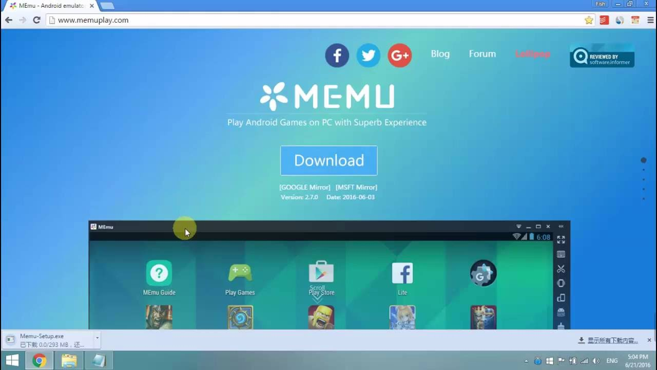 memu app player free download for windows 10