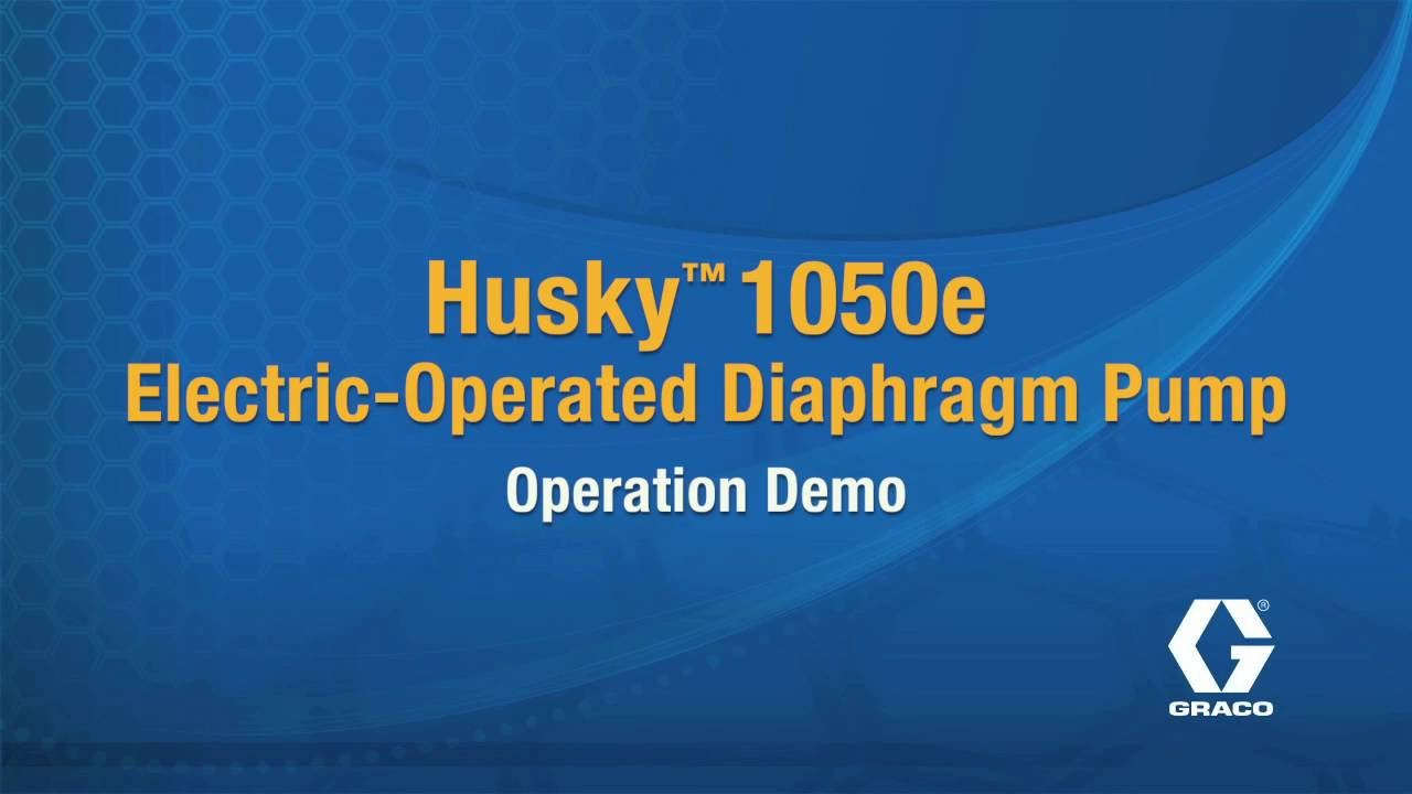 How gracos husky 1050e electric operated diaphragm pump works youtube how gracos husky 1050e electric operated diaphragm pump works ccuart Gallery