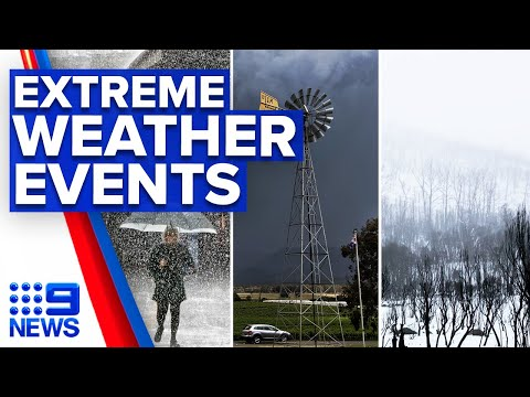 Extreme weather events forecast across Australia | 9 News Australia