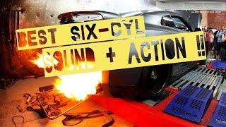 BEST 6 cylinder engine ( SOUNDS + ACTION ) ( HD )