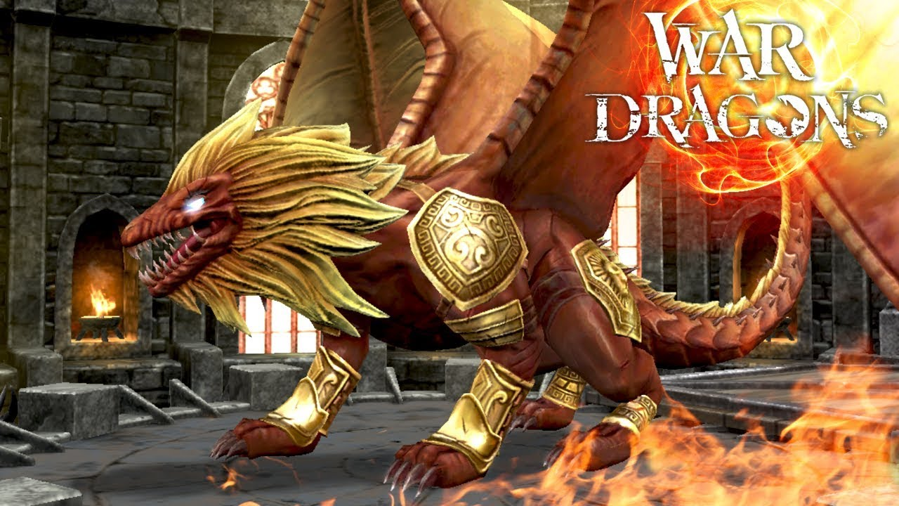 Leo The Fire Lion Dragon!! – War Dragons Gameplay