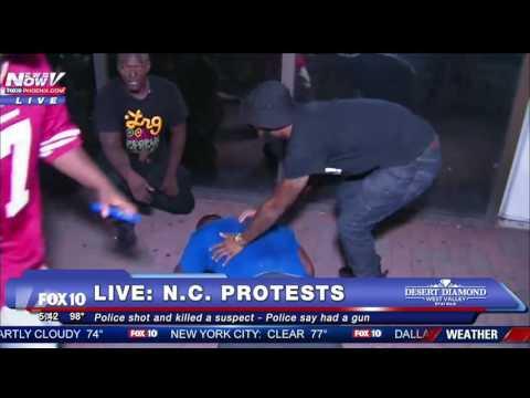 GRAPHIC VIDEO: North Carolina Protester Shot