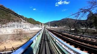 JR特急ワイドビュー伊那路 天竜川橋梁通行
