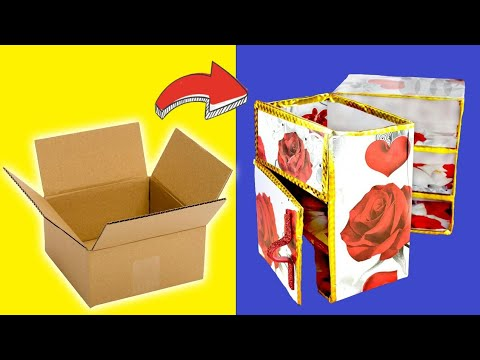 How To Make Jewellery Box At Home DIY Project For Gift By Mr Ideas