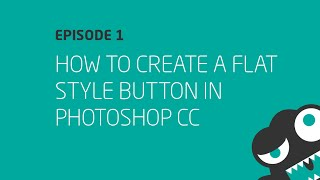 How to Create a Flat UI Style Button in Photoshop CC