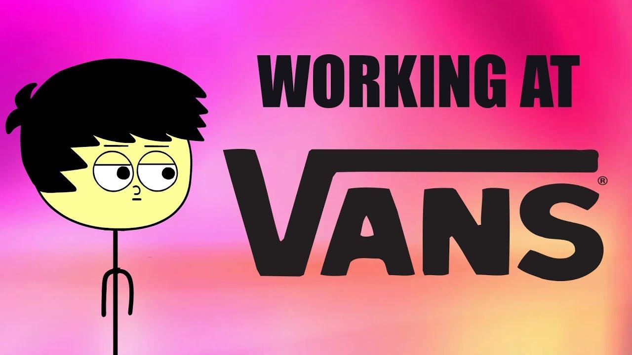 working at vans