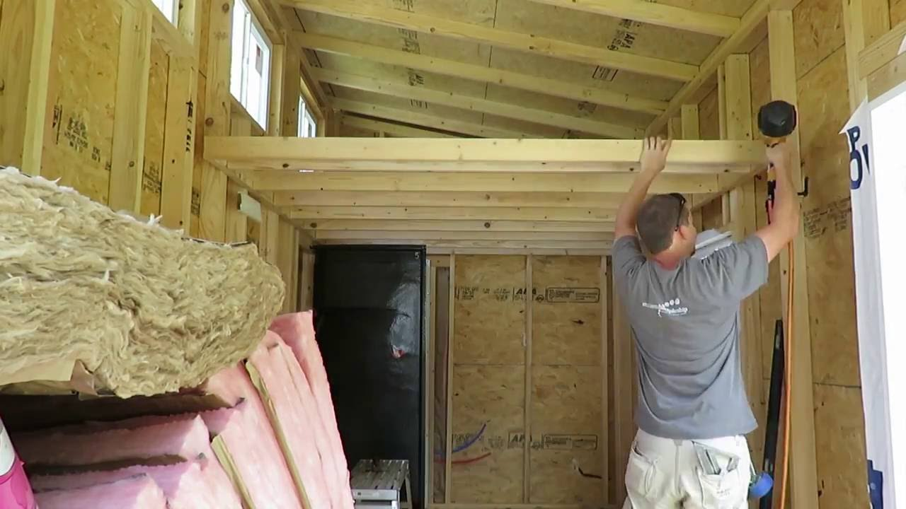 Tiny House Loft Part 1 YouTube