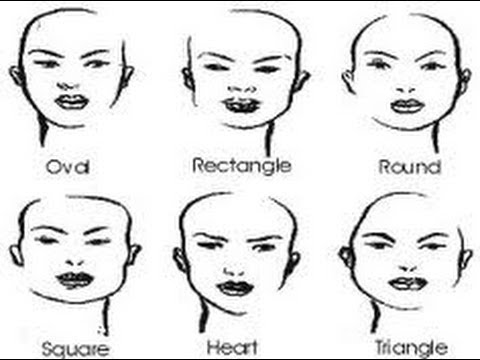 The Perfect Hairstyle For YOUR Face Shape. - YouTube