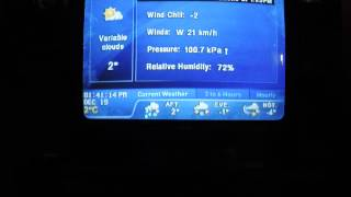 the weather network christmas 2014 local forecast song 2