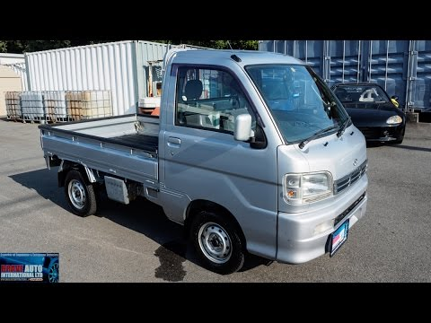 Walk Around – 2001 Daihatsu Hijet Kei 4WD Mini Truck – Japanese Car Auctions
