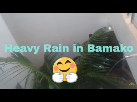 Heavy Rain in Bamako