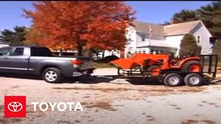 2007 - 2009 Tundra How-To: Towing - Overview | Toyota
