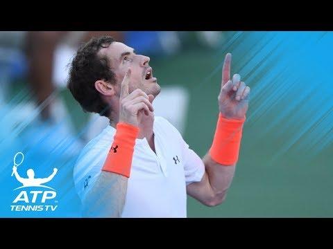 Andy Murray Beats Edmund; Zverev, Nishikori Also Advance | Citi Open 2018 Highlights Day 3