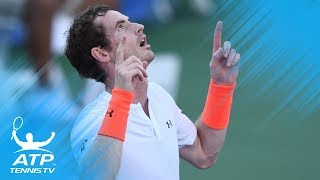 Andy Murray Beats Edmund; Zverev, Nishikori Also Advance   Citi Open 2018 Highlights Day 3