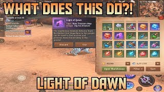 Light of Dawn! What Does it Do? Legendary Items!! Crusaders of Light