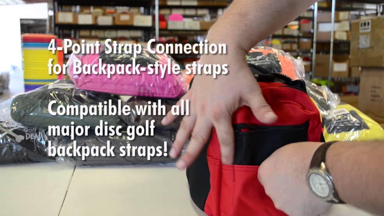 Disc Golf Bag Review Fade Gear Crunch Box Youtube