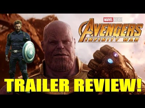 AVENGERS INFINITY WAR Trailer Review, Discussion, and Breakdown!