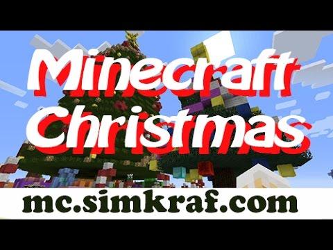 Funny Minecraft Christmas | Join Simkraf Server =^.^= - YouTube