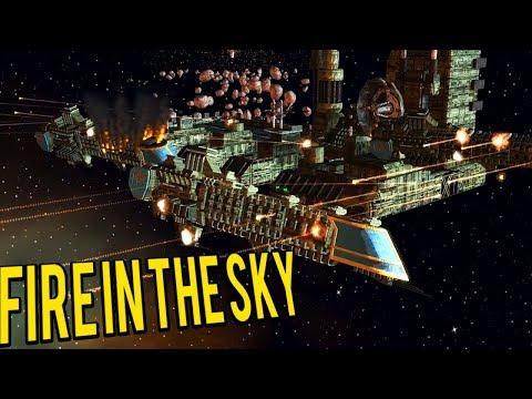 Imperial Fleet Vs Chaos Fleet - Warhammer 40k Fire In the Sky (Star Wars Empire at War)