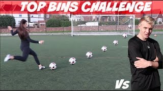 One of Charlotte Allcorn's most viewed videos: ULTIMATE TOP BINS CHALLENGE vs CHARLIE MORLEY