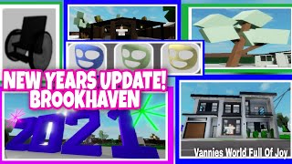 BROOKHAVEN NEW YEARS UPDATE NEW HOUSES WHEEL CHAIR FACE MASK NEW TREE COLOR AND MORE