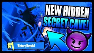 NEW SECRET HIDDEN CAVE LOCATION! (FORTNITE SEASON 7)