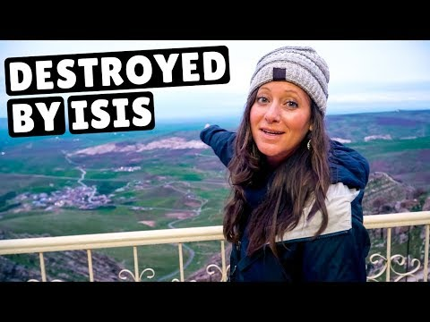 IRAQ Part 2: ISIS Border + Holiest Village (no Shoes Allowed)