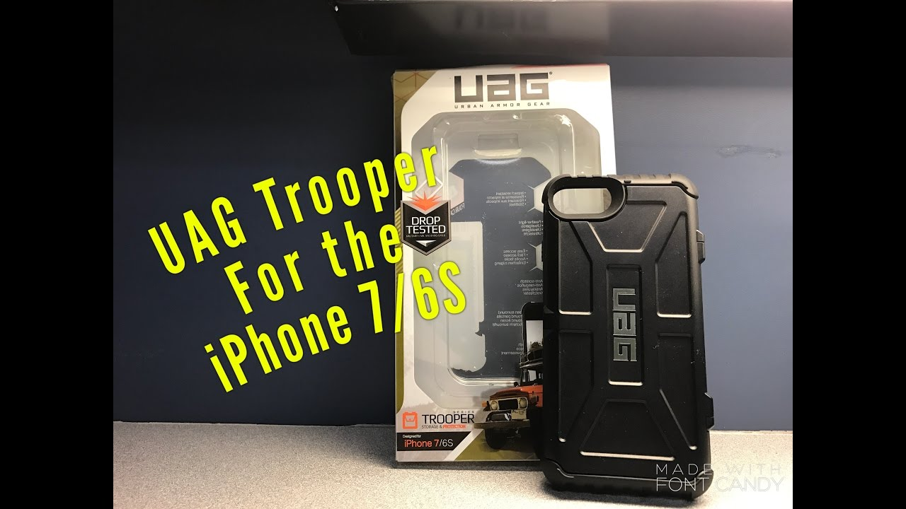 sale retailer cf92e 5626c UAG Trooper Series Case for the iPhone 7/6S Review