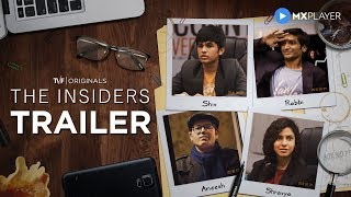 The Insiders | Official Trailer | MX Player | A TVF Original Series | TVF Play