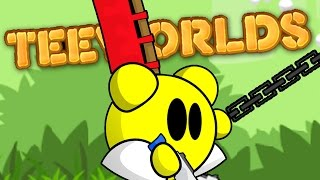 WORMS AND SPEEDRUNNERS HAD A BABY - Teeworlds Gameplay Free PC Game - Part 1
