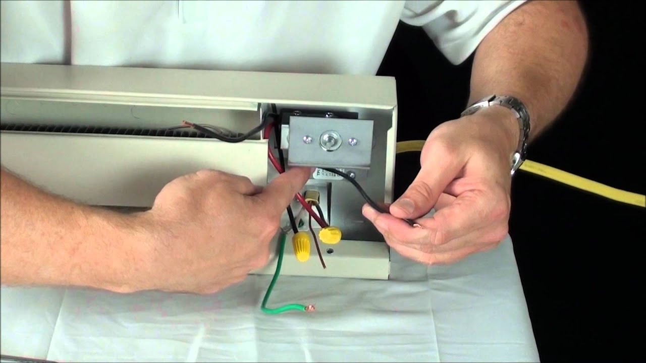 maxresdefault 2900 series singlepole installation youtube electric baseboard thermostat wiring diagram at gsmx.co